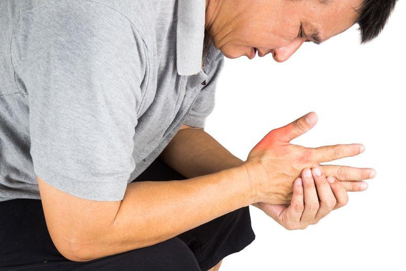 stiff tendinitis