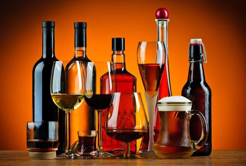 alcohol foods
