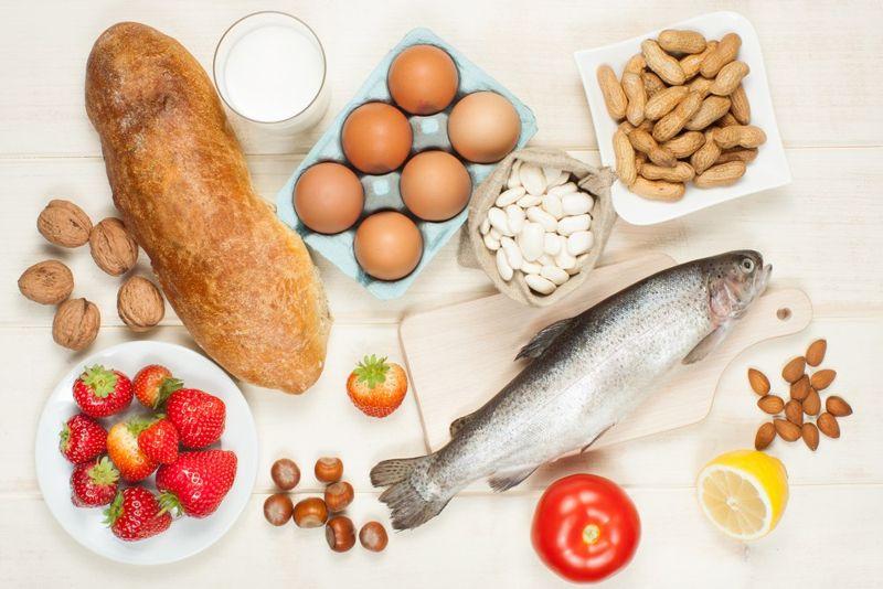food allergies migraines
