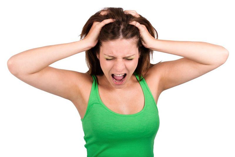 irritation head lice