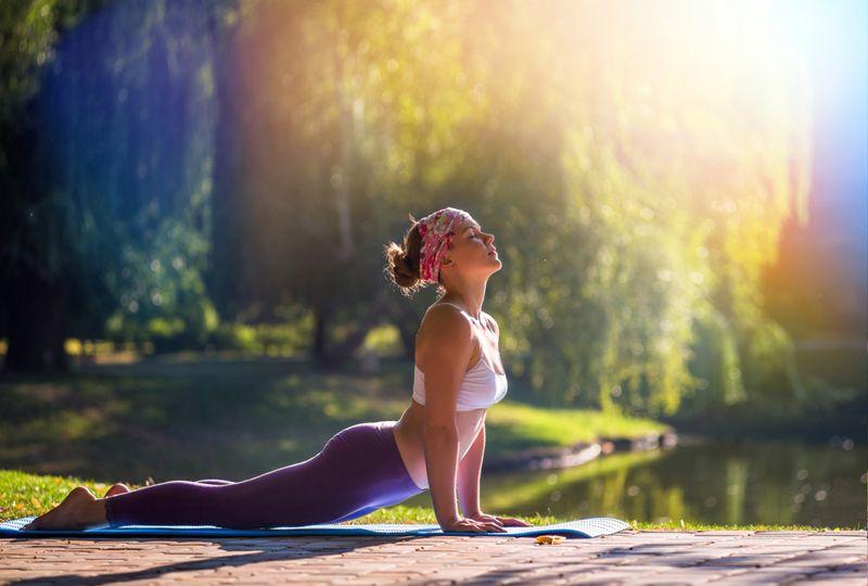 yoga depression