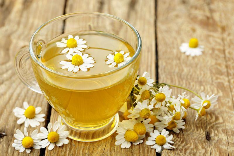 sore throat chamomile