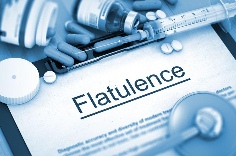 lactose intolerance flatulence