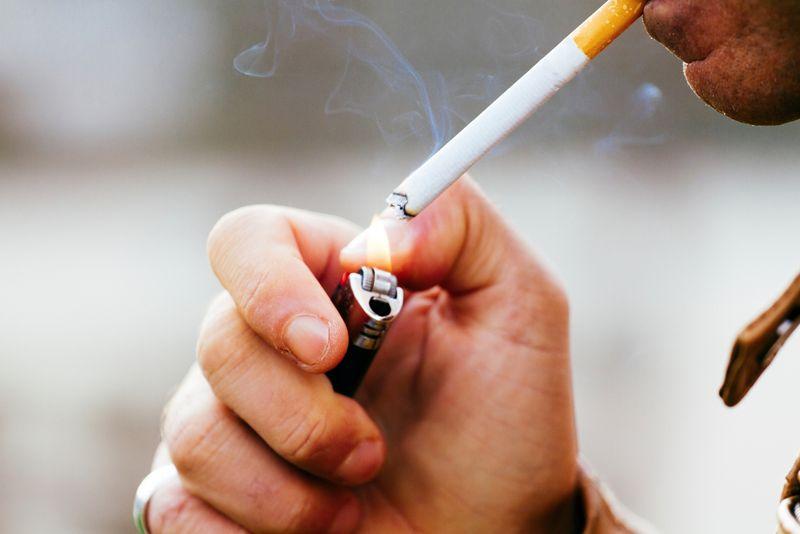 cigarettes heartburn