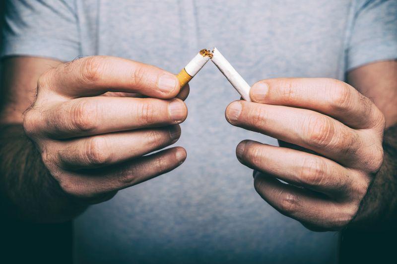 smoking pneumonia