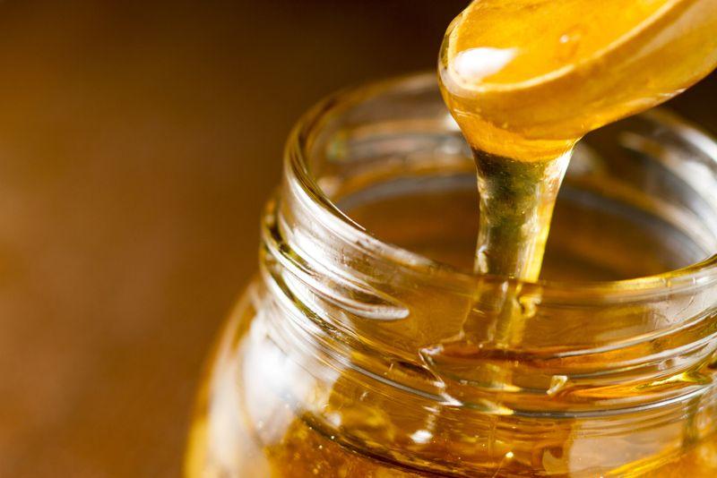 honey Dry hair
