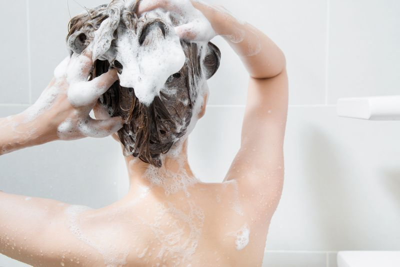 Dry hair health