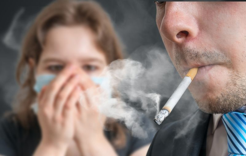 second hand smoke COPD