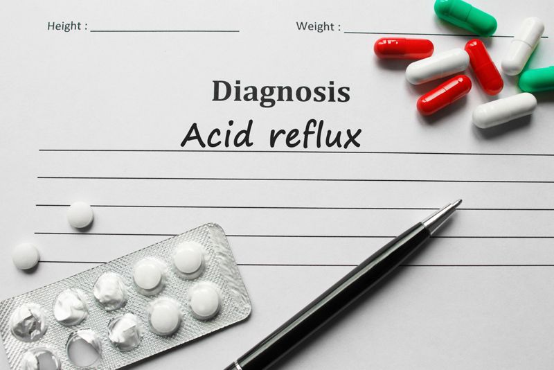 medication treatments for acid reflux