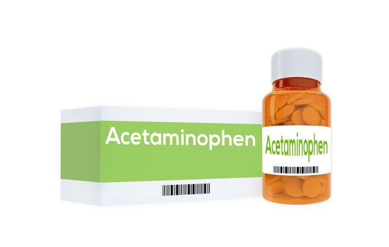 inflammation acetaminophen
