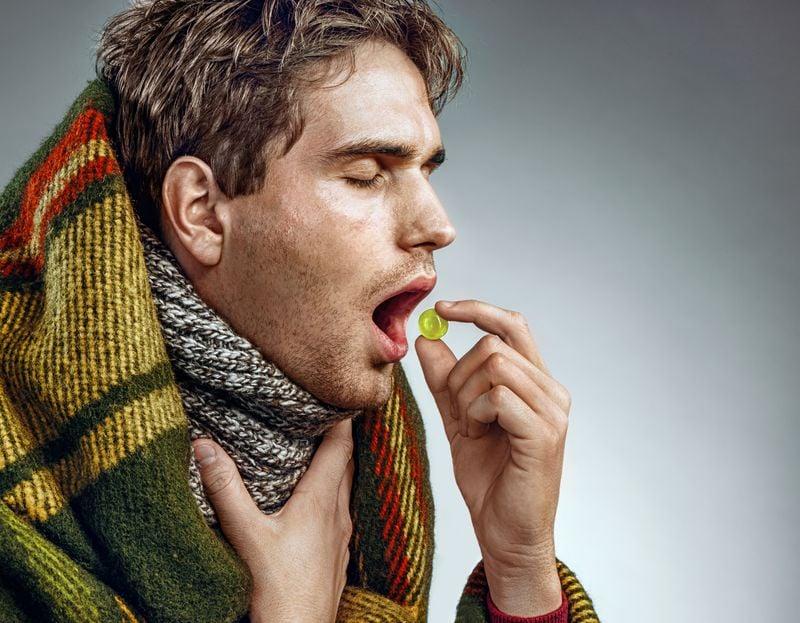fever sore throat
