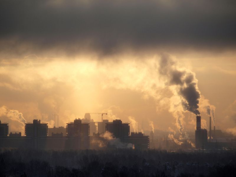 pollution lung cancer