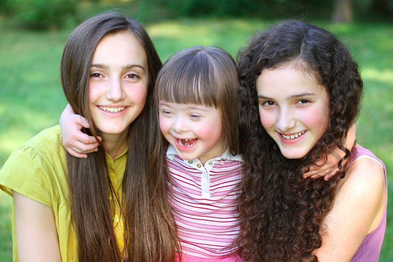 down syndrome multiple children