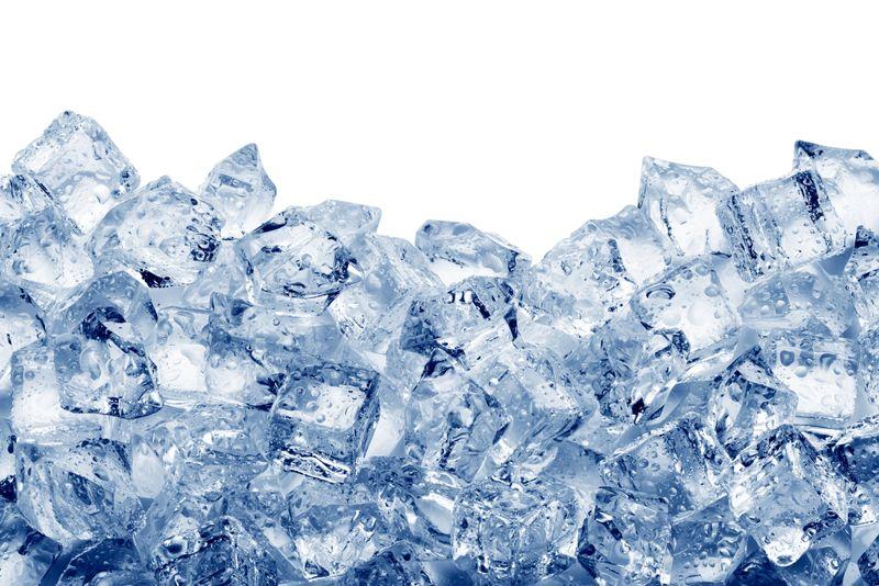 burns ice