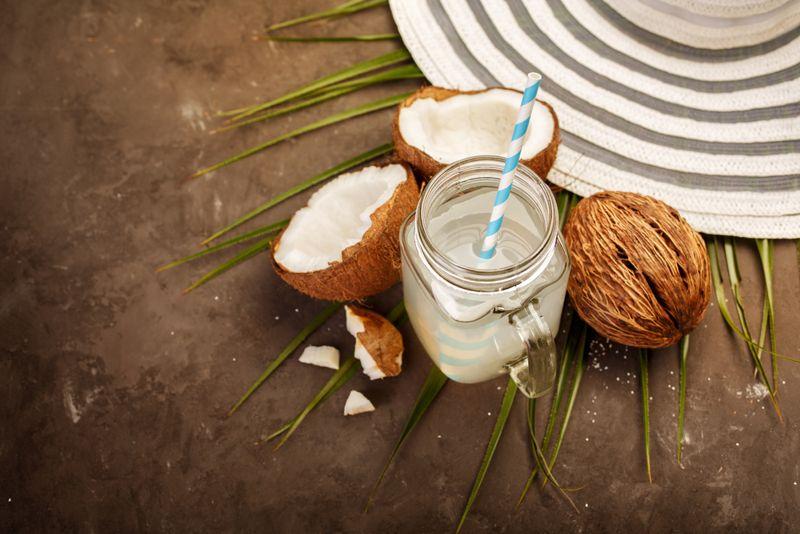 coconut water dehydration