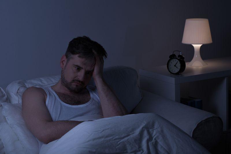 insomnia waking