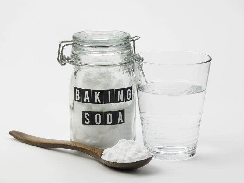 dehydration baking soda