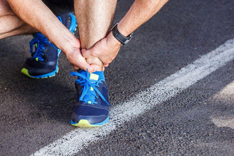 weakness Ankle Sprain