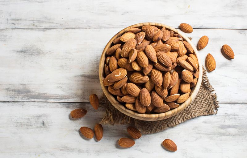 nuts foods for healthy skin