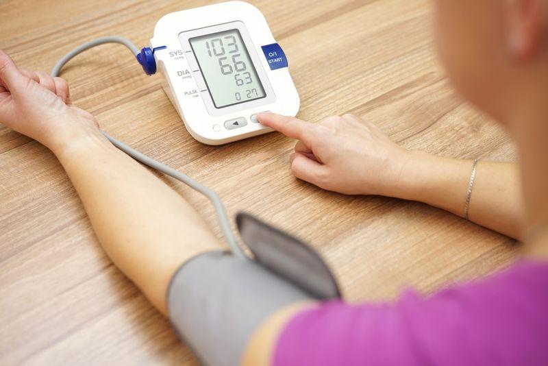 blood pressure symptoms of cholera