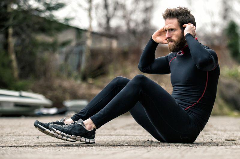 sit ups weight loss
