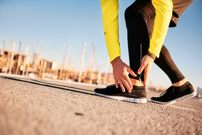 what causes Ankle Sprain pain