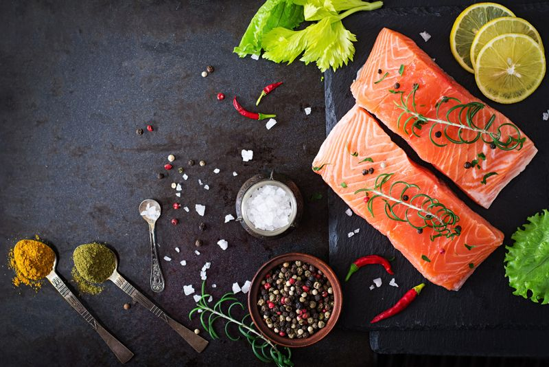 salmon foods for healthy skin