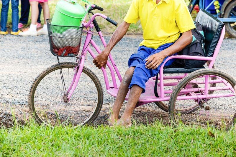 atrophy polio