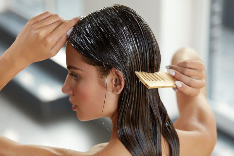 organic dry hair treatments