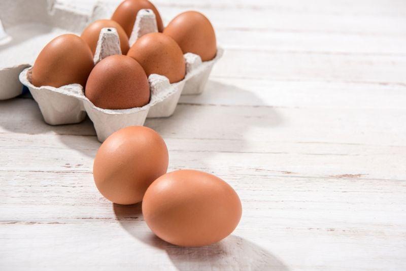 egg foods to improve pregnancy