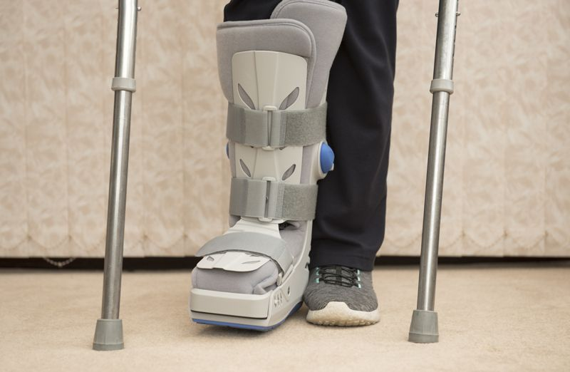supporting Ankle Sprain
