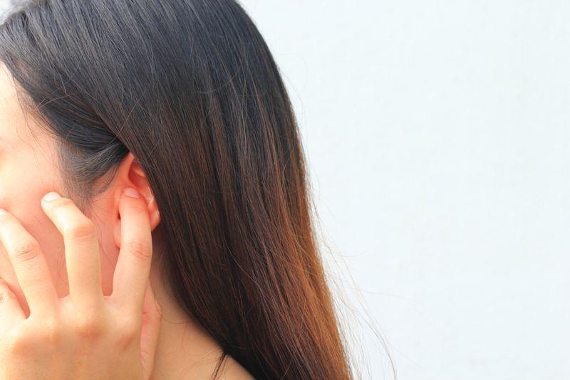 ear infection rubella virus
