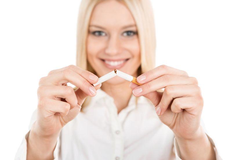 smoking pregnant