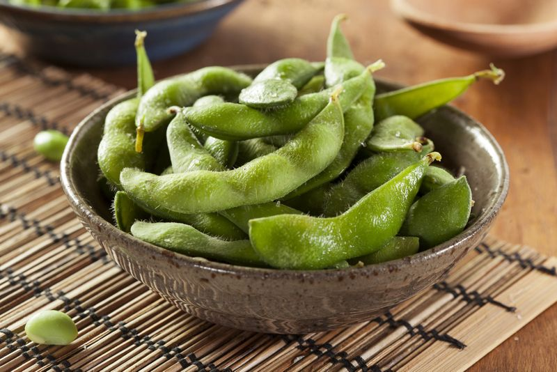 edamame healthy snacks for adults