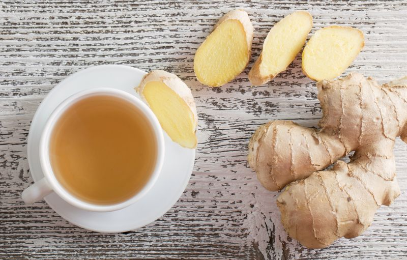 ginger for hangovers