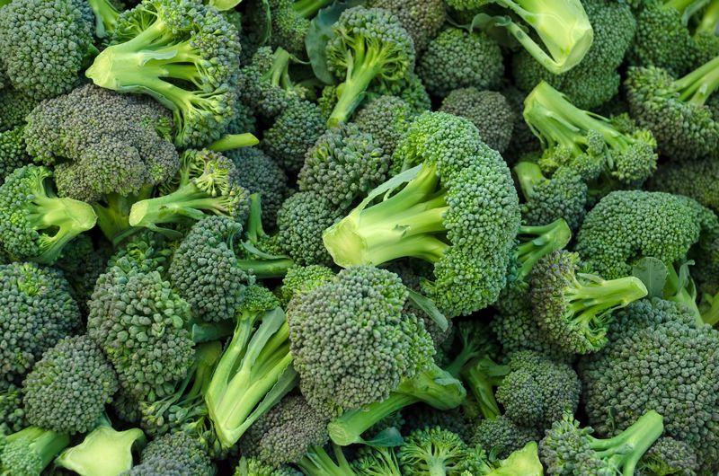 broccoli high in calcium