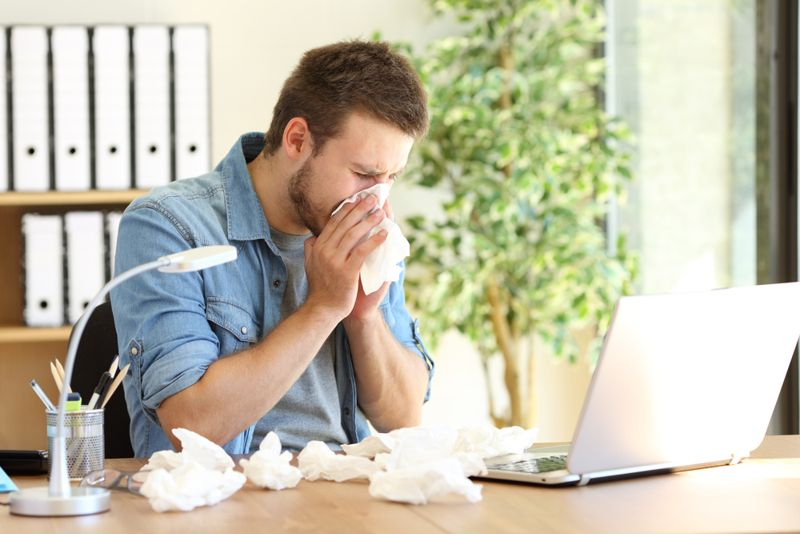 viral infection signs and symptoms