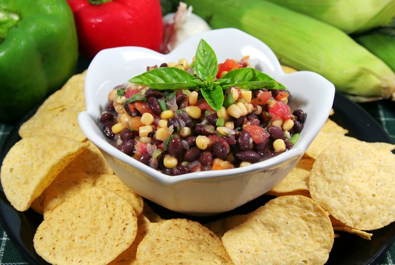 salsa healthy snacks for adults