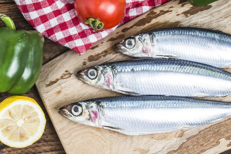 sardines high in calcium