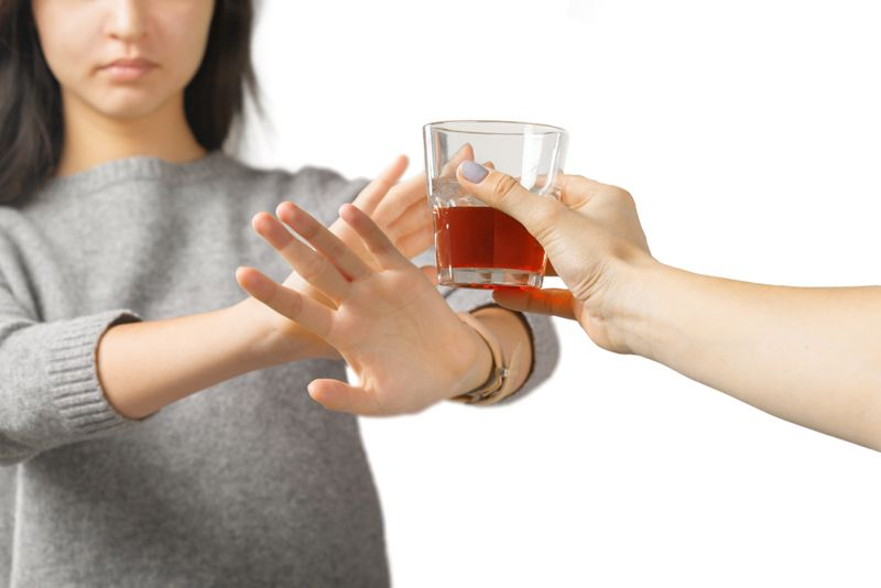 drinking pregnant