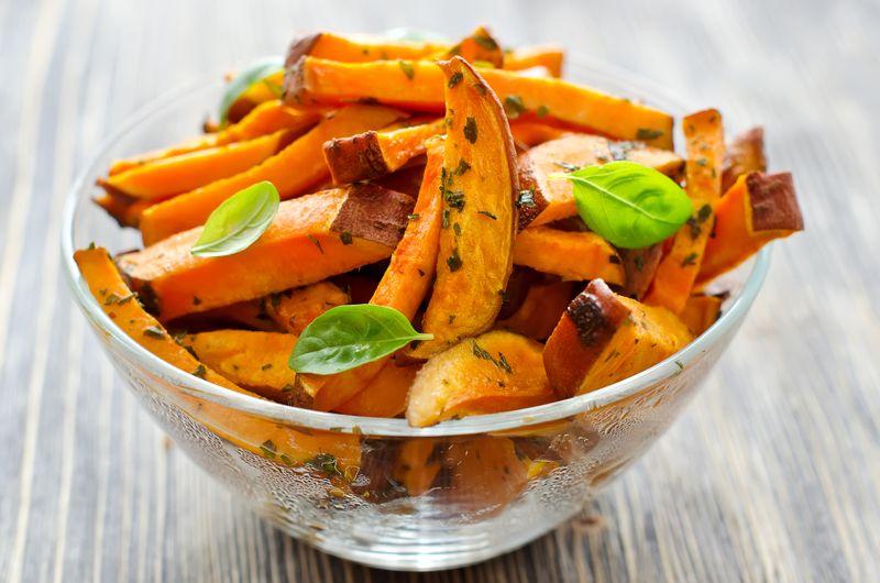 folate sweet potatoes