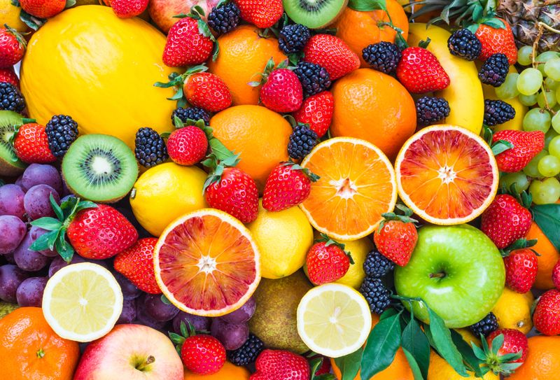 fruits low in sodium