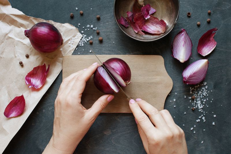 inflammation onions