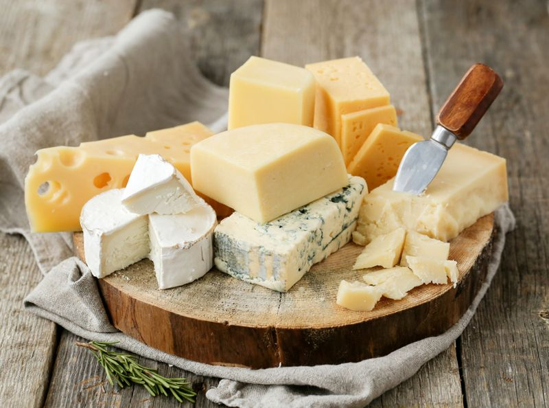 cheeses Fatty Foods