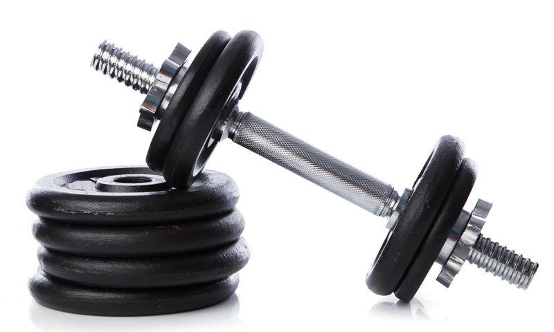 dumbbell strength training