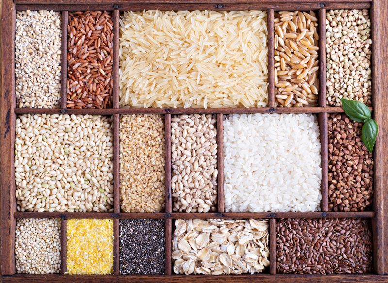 whole grains low in sodium