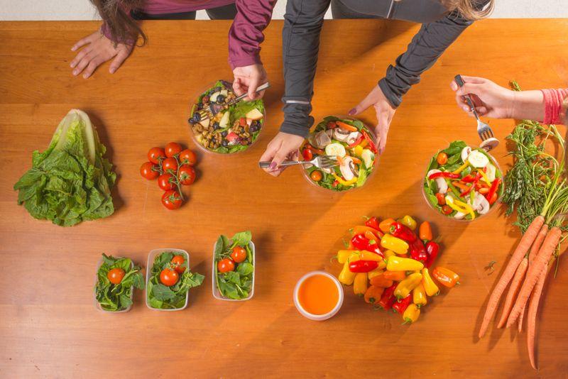 meal prep clean-eating