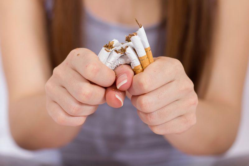 quit smoking white blood cell