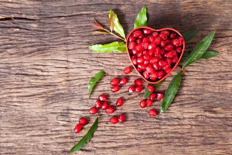 heart benefits pomegranate juice