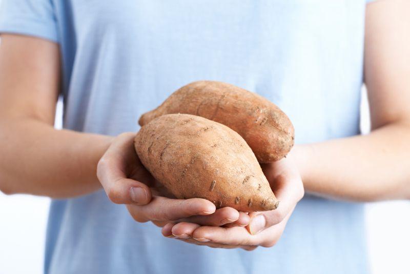 eye sweet potatoes